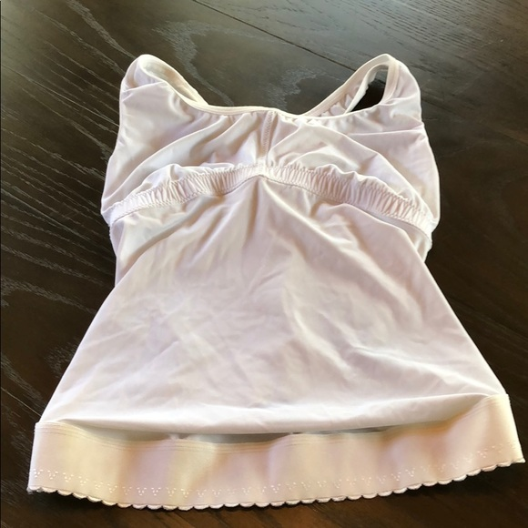 White Belly Bra Excellent Condition Small
